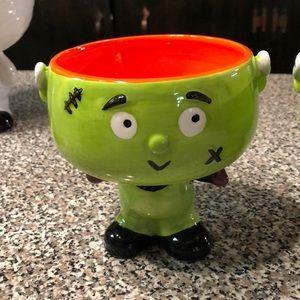 Frankenstein candy dish